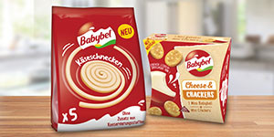 Snack-Evolution von Babybel®