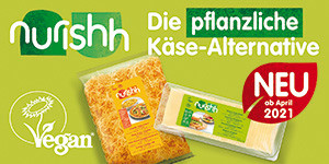 NEU: Nurishh - Die vegane Käse-Alternative
