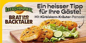 Neu von Bel Foodservice: LEERDAMMER® Brat- und Backtaler der knusprig warme Käsegenuss für eine große Snack-Vielfalt