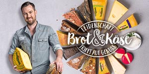 """Brot & Käse"" – Food Pairing für Bäckerei-Snacks"