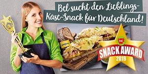 "Bel Snack Award 2019: ""Lieblings-Käse-Snack"" gesucht"