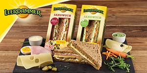 Leerdammer® Sandwiches
