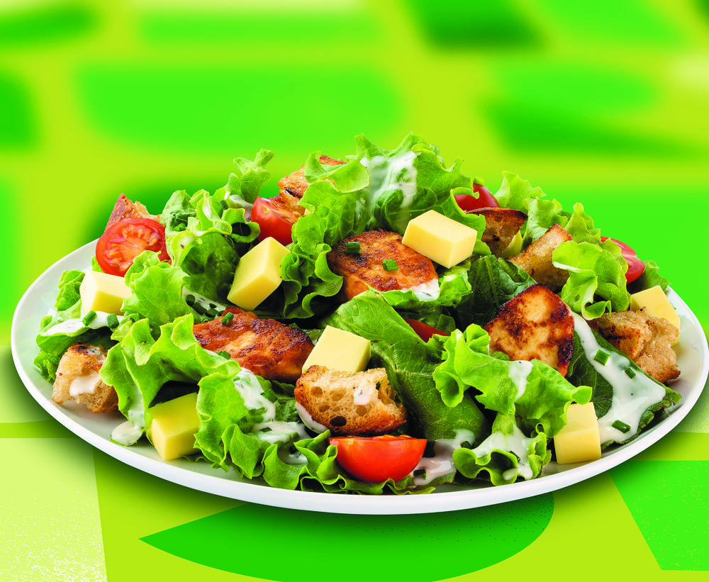 Veganer Caesar Salat