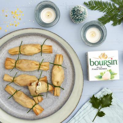 Knusprige Boursin-Bonbons