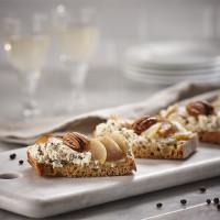 Ahorn-Birne-Crostinis