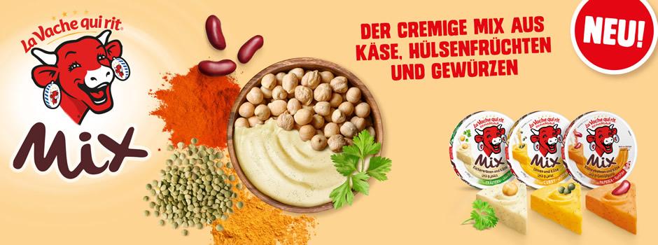 Neu : Der cremige mix aus käse, hülsenfrüchten und gewürzen